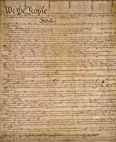 Rhode Island Ratified the Contitution