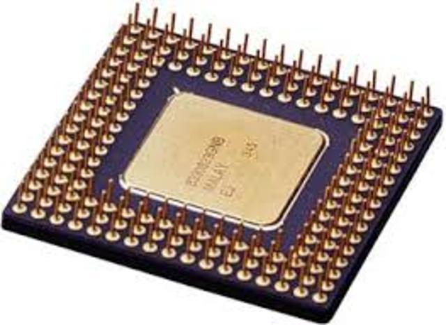 CUARTA GENERACION Microprocesador , Chips de memoria, Microminiaturización