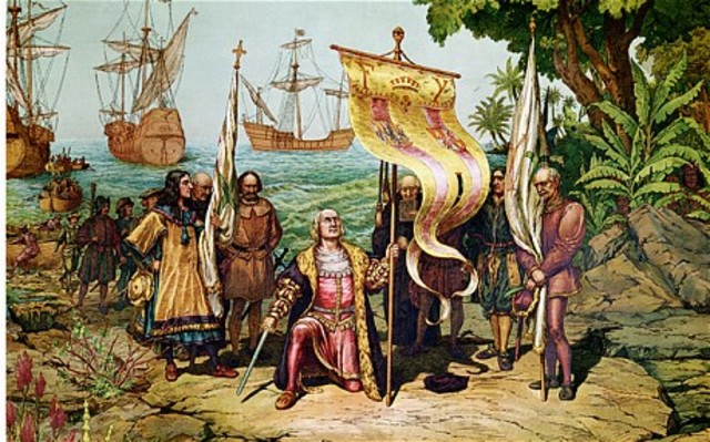 Christopher Columbus reached the new world