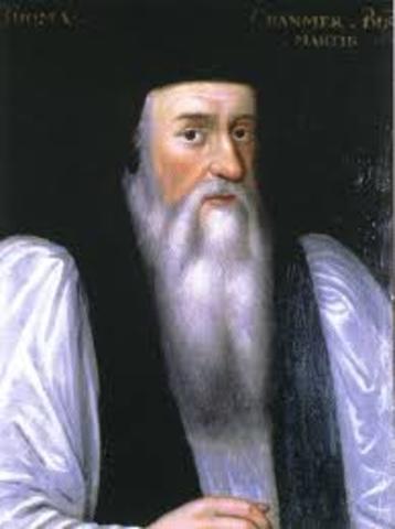 Thomas Cranmer and Thomas Cromwell