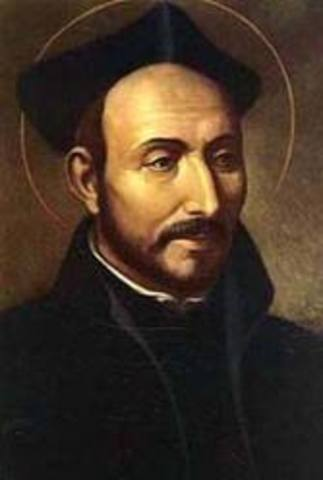 The Society of Jesus and the Ignatius of Loyola