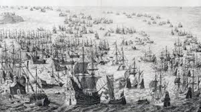 Spanish Armada outcome and long term impact on Spain