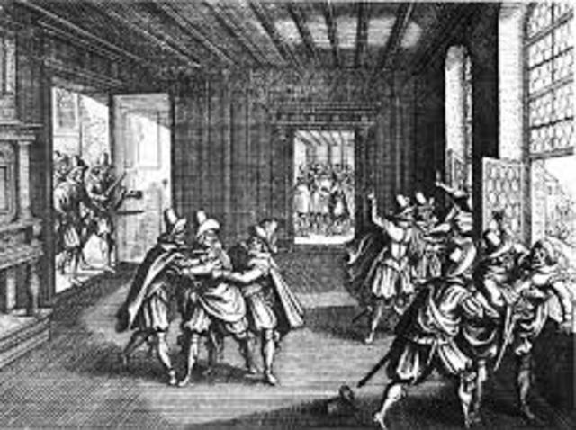 Bohemian Period and defenestration of Prague