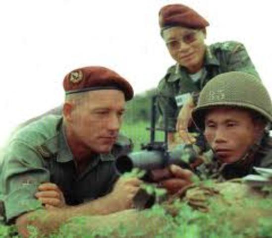 Training of Vietnam army