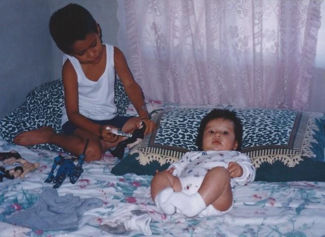 Nacimiento de mi hermano.
