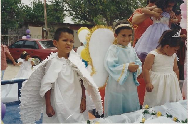 Desfile de la revolucion mexicana.