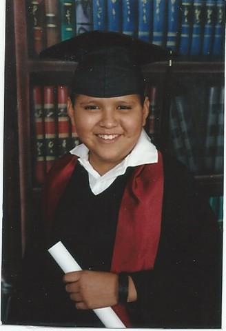 Mi graduacion de la primaria.