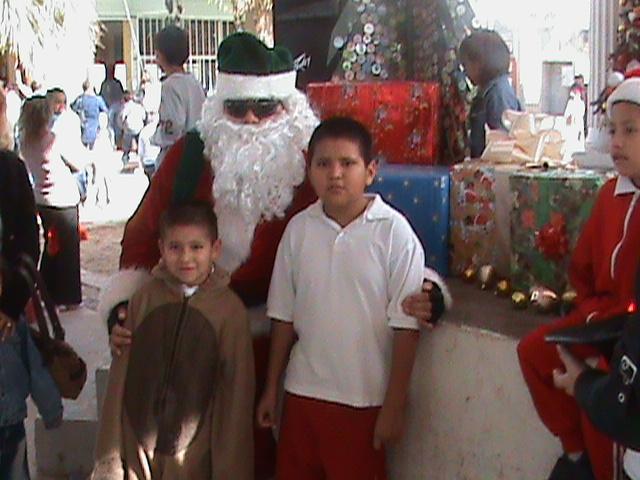 Mi ultimo festival navideño de la primaria.