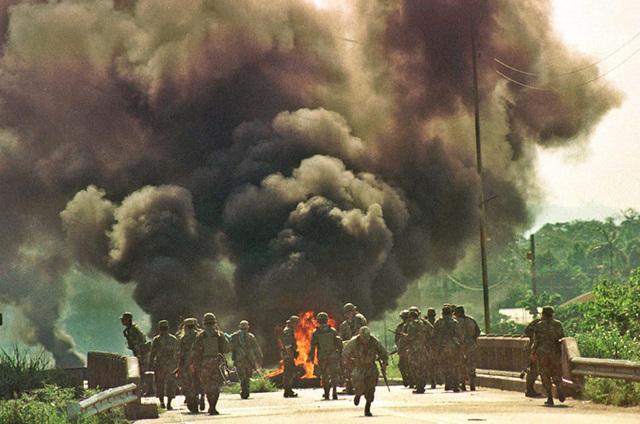Bolivia Gas Conflict