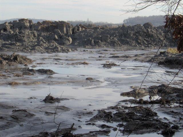 Kingston Fossil Plant Oil Slurry Spill