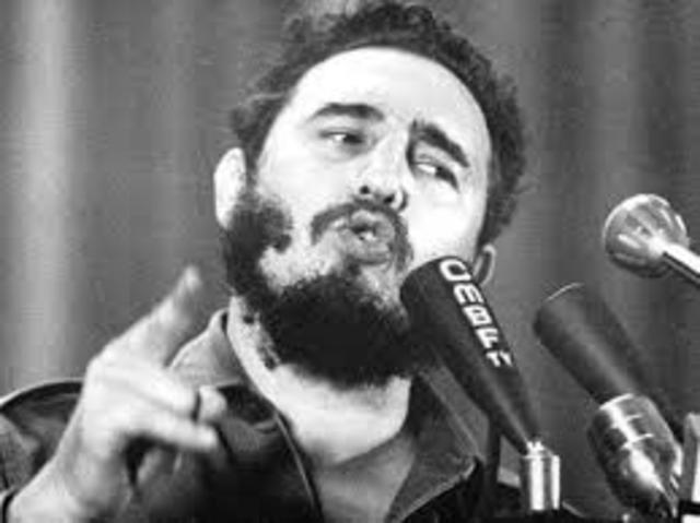 Fidel Castro Proclaims Communist Cuba