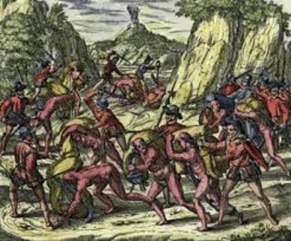 Pizzaro invades the Inca empire