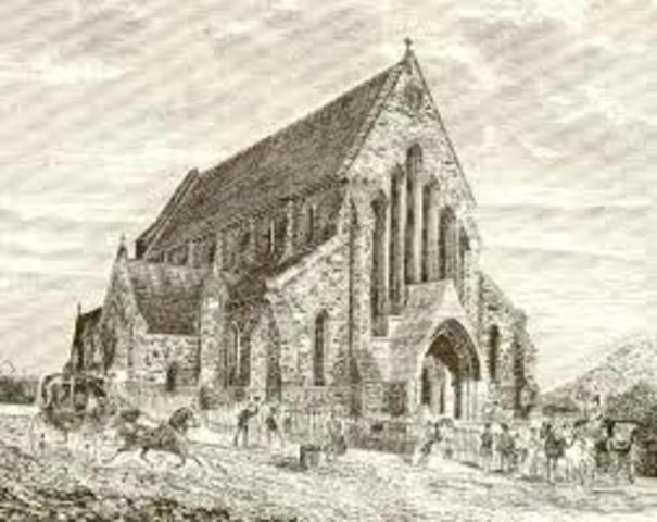 Henry VIII Found Angelican Church