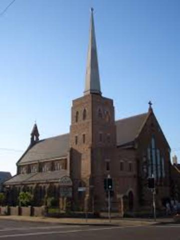 Henry VIII founds angelican church