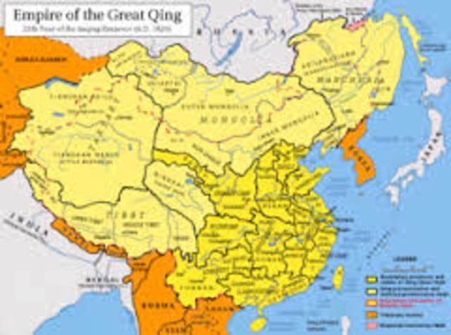 Qing dynasty in china begin