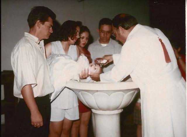 Mi bautizo.
