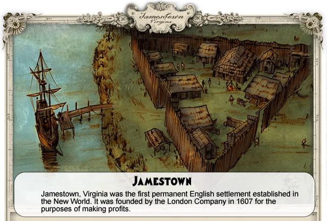 Chesapeak Colonies Jamestown (Virginia)