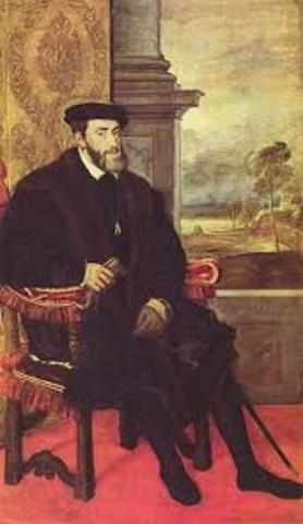 Charles V Abdication