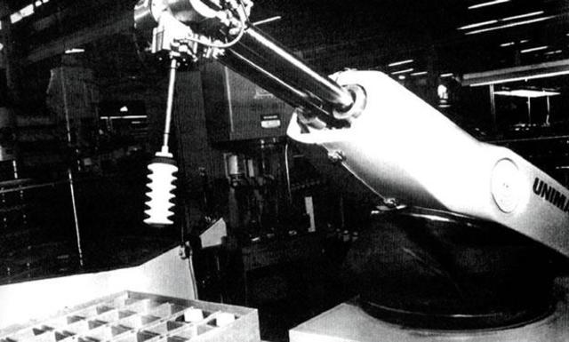 Unimat (el primer robot industrial comercializado)