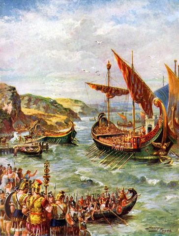 Battle of Medway, Year: 43 AD