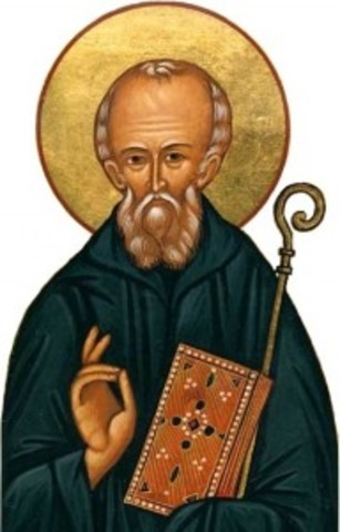 St. Columba founded monastery at Iona