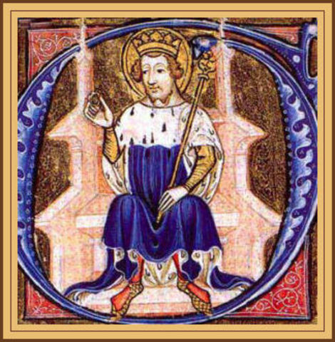 The Saxon, Edward the Confessor is King of England