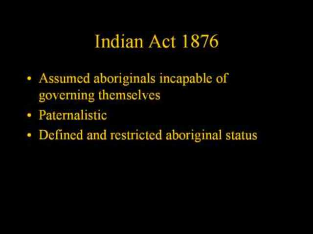 Indian Act