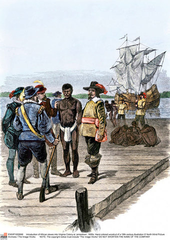When slavery came to America