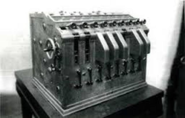 Mejora de la máquina de Babage