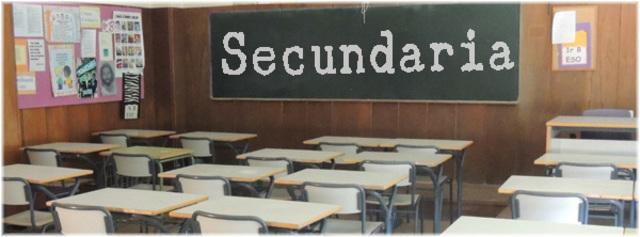 Inicio mis estudios en la secundaria