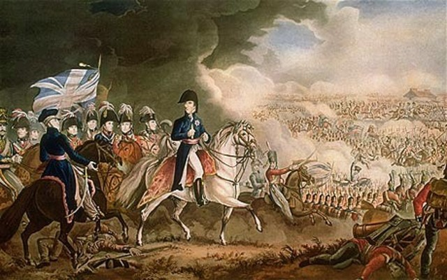 Napoleon defeated @ Waterloo