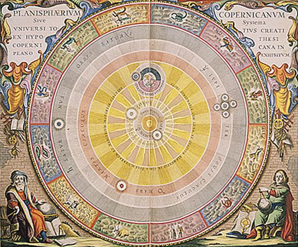 Copernicus published heliocentric theory