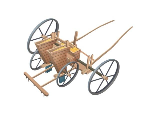 Jetro Tull crea la máquina sembradora