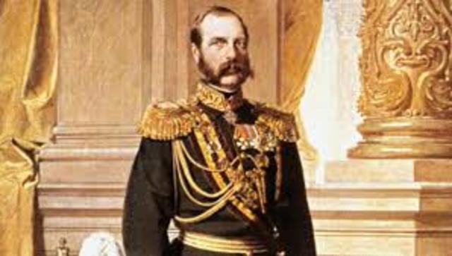 Czar Alexander II Emancipates the Serfs