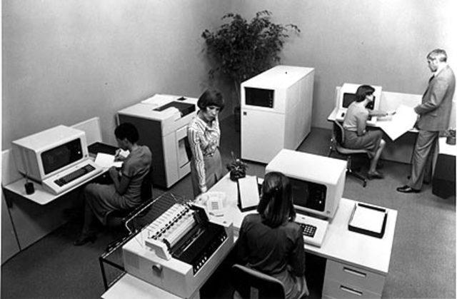 IBM conectados a un ordenador central