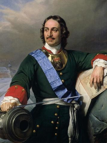 Peter I becomes Czar