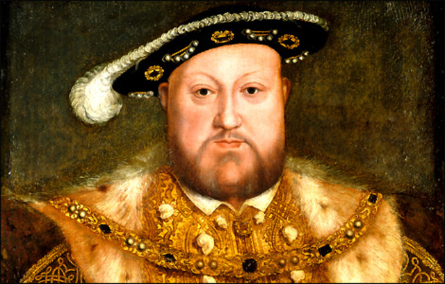 henry VIII founds anglican church