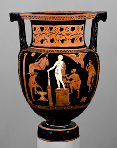 Column–krater (bowl for mixing wine and water)