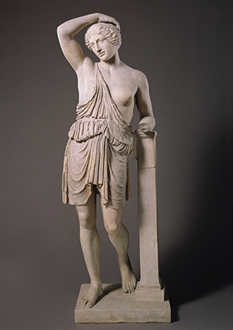 Statue of a wounded Amazon