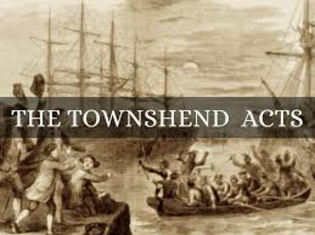The Townshend Revenue Act