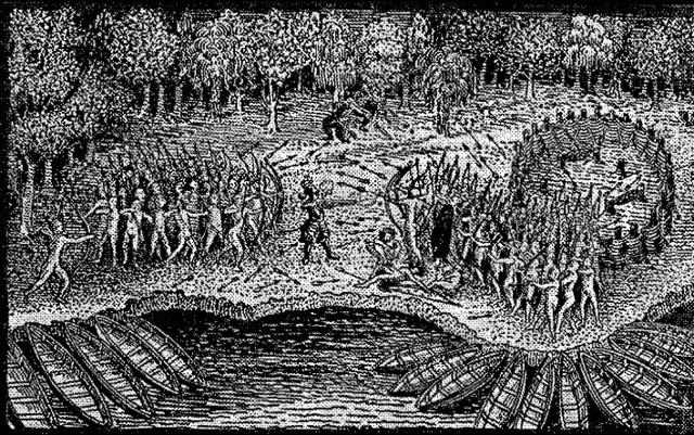 Algonquins and Iroquois
