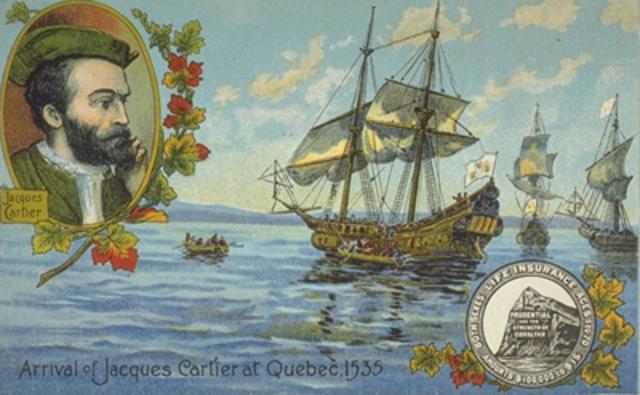 Jacque Cartier's third voyage
