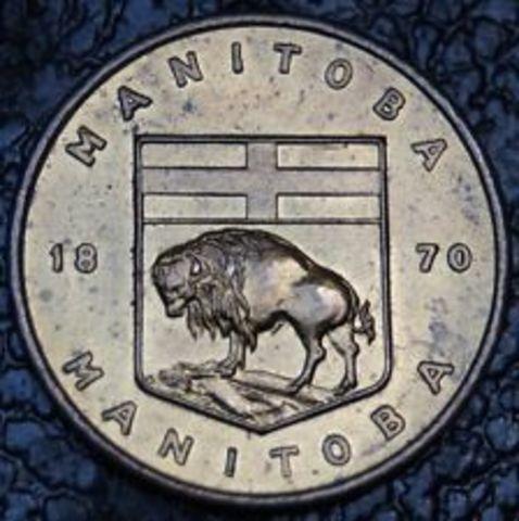 Manitoba Joins Confederation
