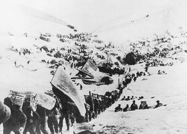 Discovery of the Yukon Gold Rush