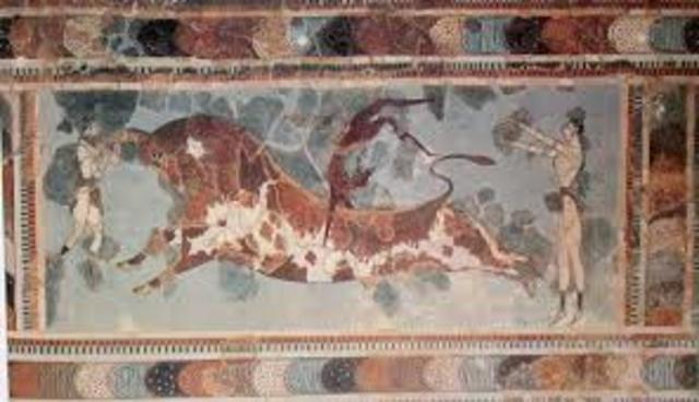 Minoans on the Island of Crete