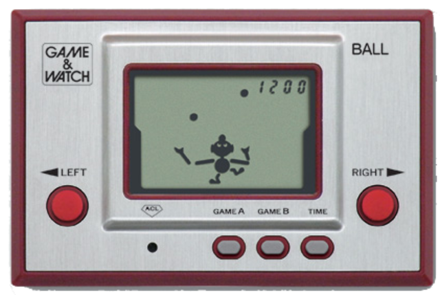 The Game and Watch series.