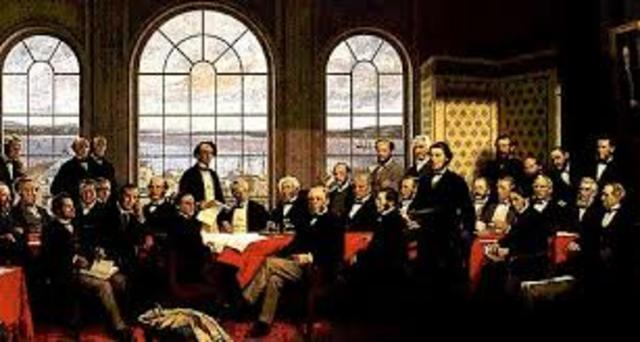 The Confederation is formed (Feb. 9, 1861