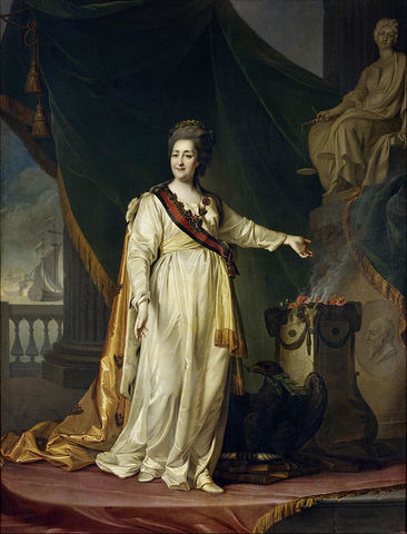 Catherina The Great rules Russia