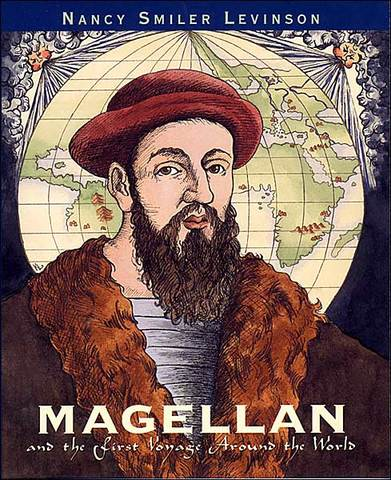 """Magellan starts his """"around the world"""" trip"""