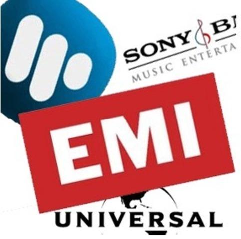 SONY, UNIVERSAL, WARNER, EMI